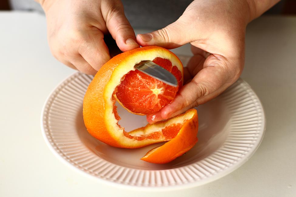 filete de portocala pentru