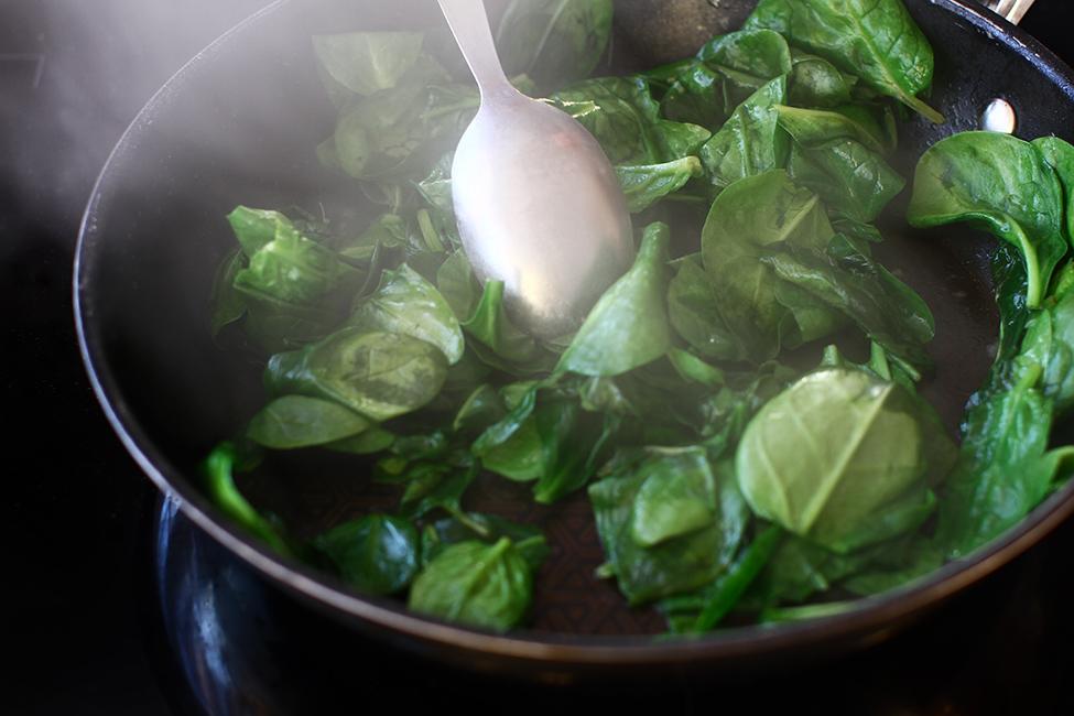 spanac sote reteta cu imagini mod de preparare sote de spanac