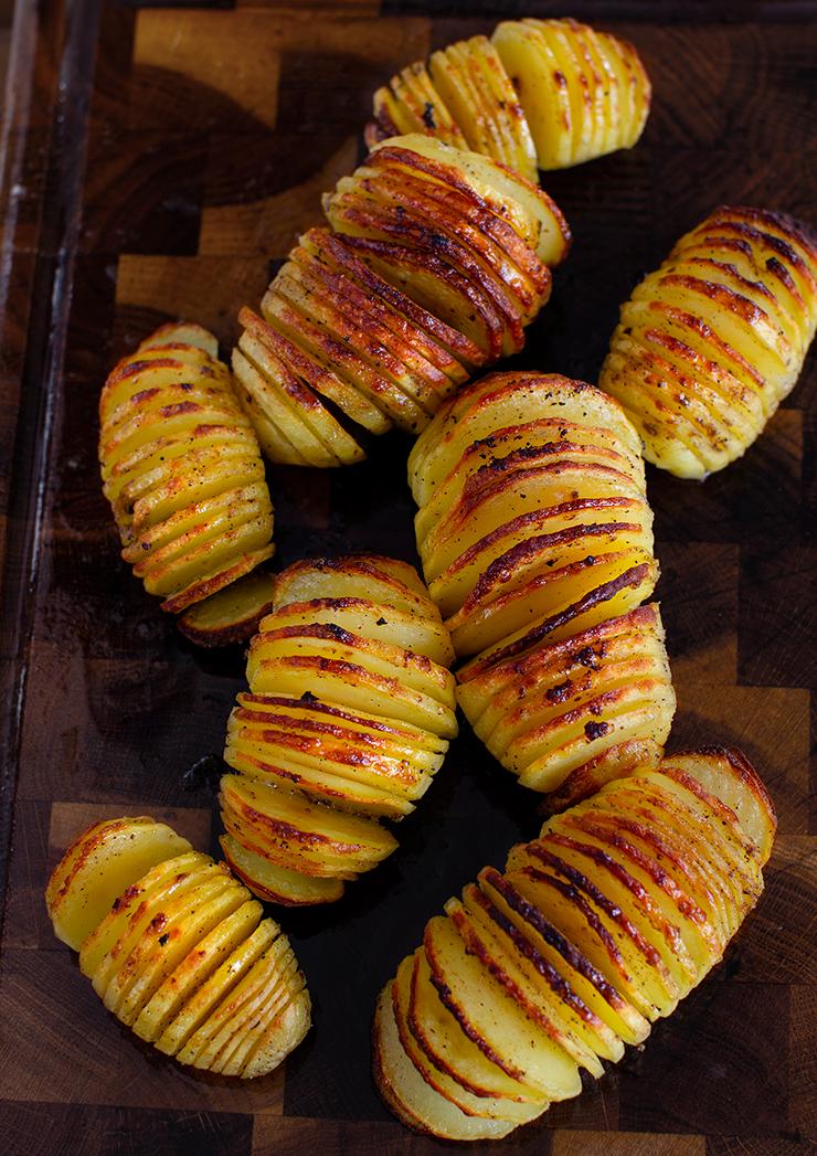 cartofi hasselaback reteta cartofi acordeon reteta acordeoane din cartofi