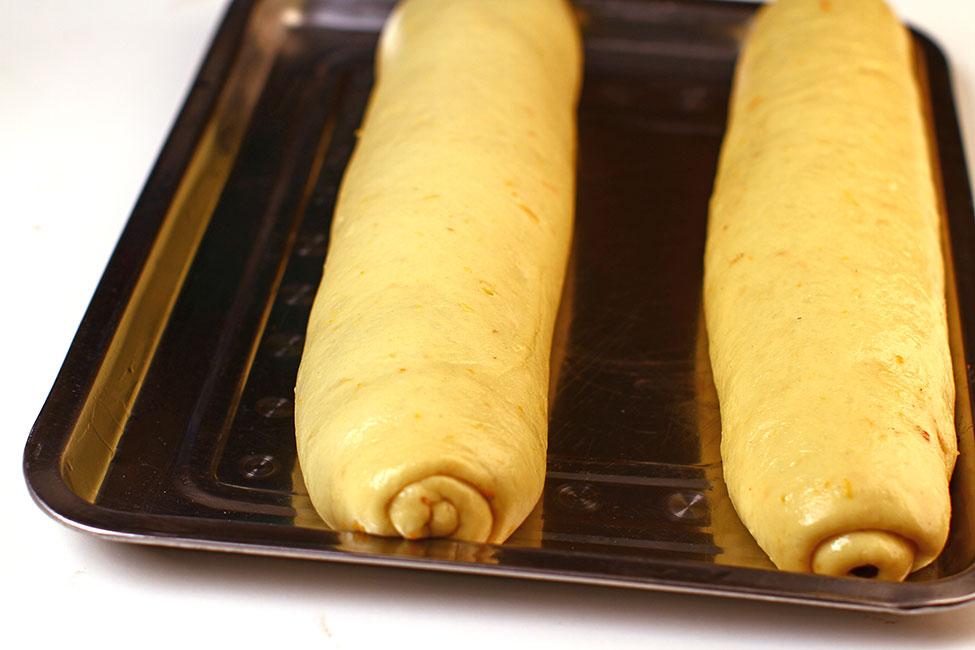 preparare pas cu pas cozonac cu nuca si ciocolata
