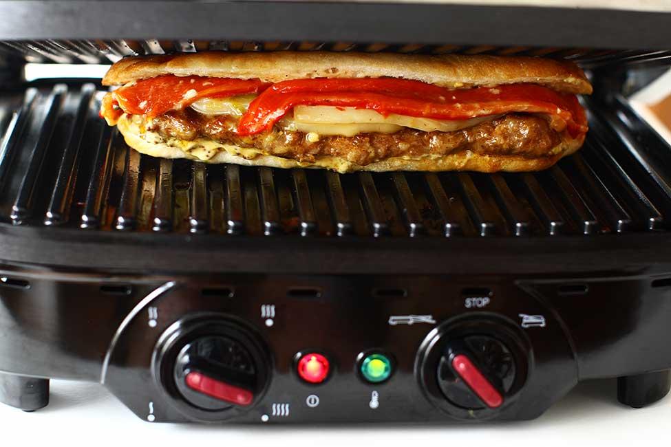 sandwich la grillul heinner