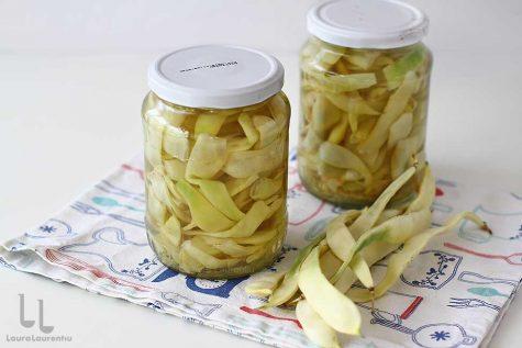 fasole pastai la borcan pentru iarna conserva fara praf conservant reteta laura laurentiu