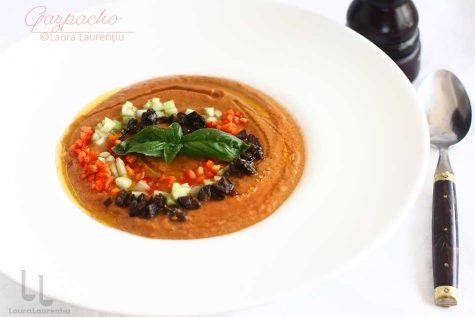 gazpacho reteta supa rece gazpacho reteta pas cu pas
