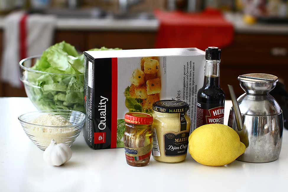 ingrediente salata cezar