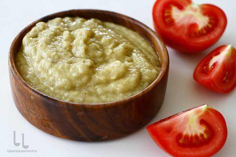 salata de vinete fara maioneza salata de vinete simpla salata de vinete de post reteta