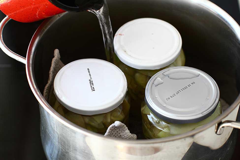 sterilizarea borcanelor prin fierbere