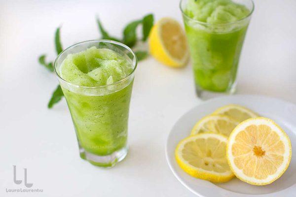 limonada inghetata cu menta reteta cum se face limonada cu menta reteta
