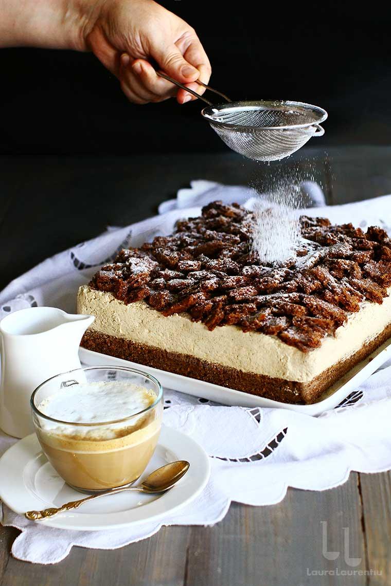 prajitura cu cafea si alune de padure reteta fina de phillipe conticini prezentata pas cu pas de laura laurentiu