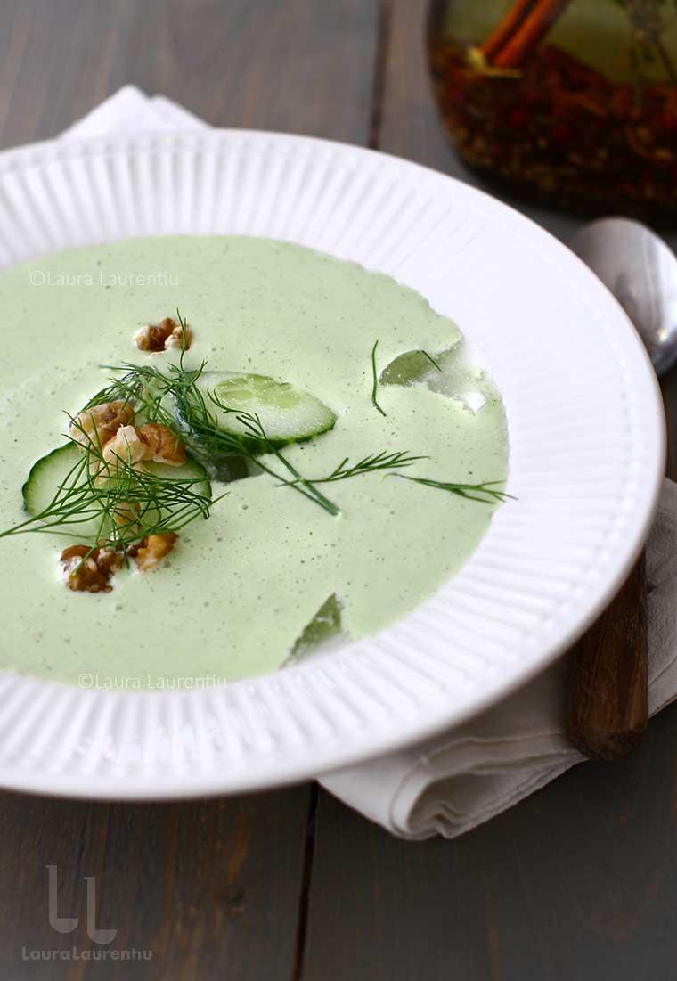 reteta tarator reteta de supa rece cu iaurt castraveti usturoi si marar reteta bulgareasca