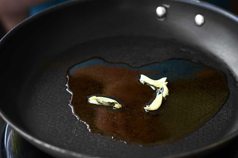 aromatizarea uleiului cu usturoi