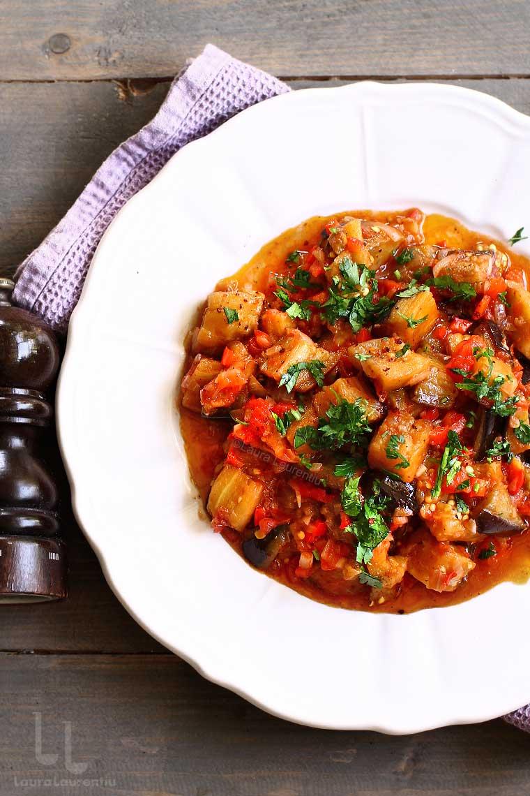 mancare de vinete soslu patlıcan reteta turceasca de mancare de vinete laura laurentiu