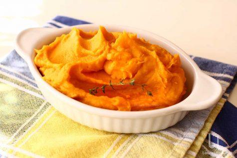 Piure de cartofi dulci rețetă simplă