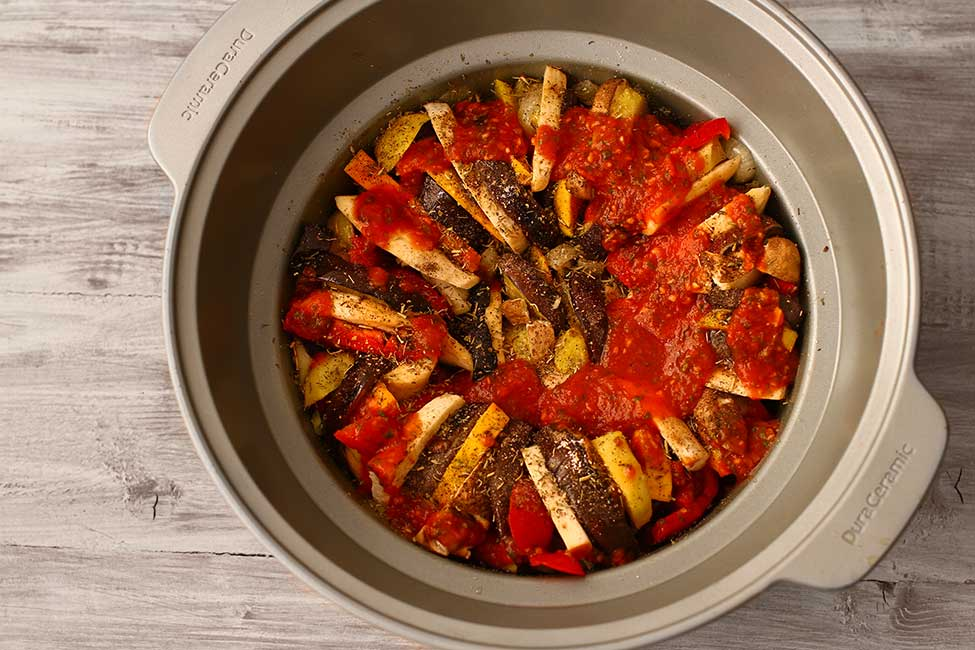 ratatouille reteta la slow cooker
