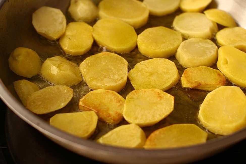 rumenire usoara cartofi