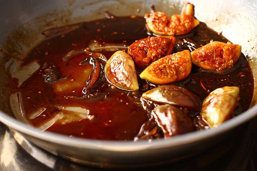 sosul cu smochine