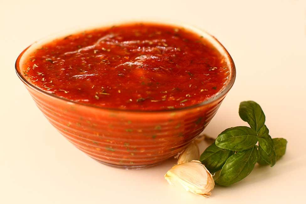 sosul de rosii cu usturoi si herbes de provence