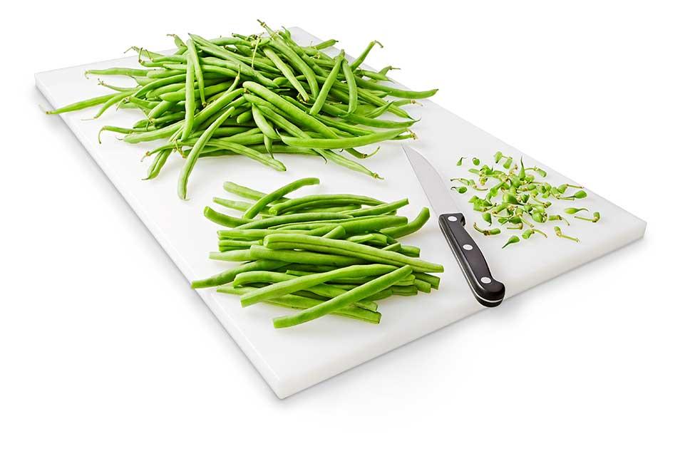 curatarea pastailor de fasole verde
