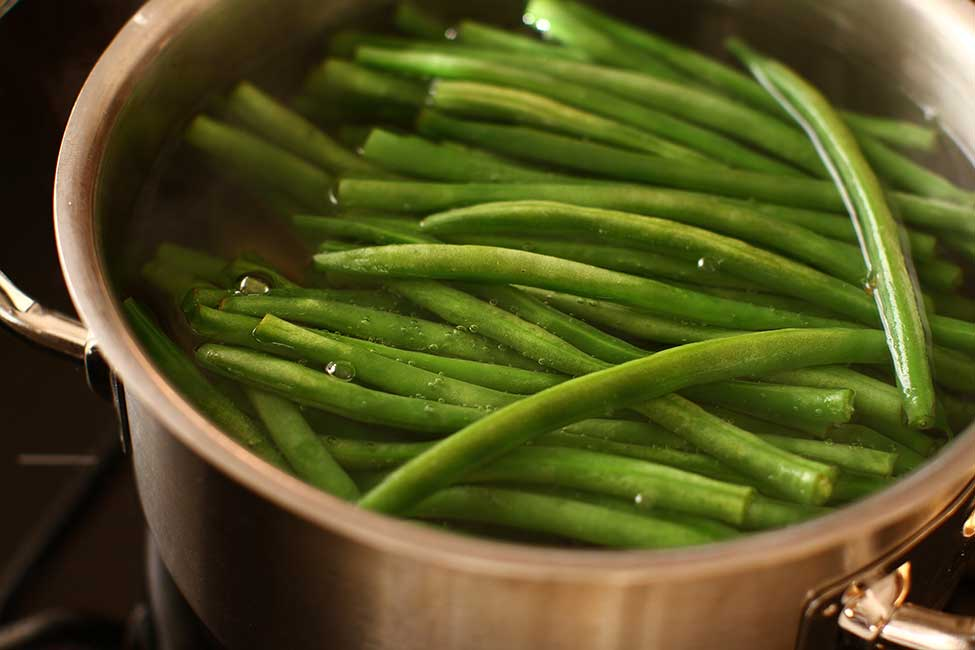 fasole verde sote mod de preparare pas cu pas