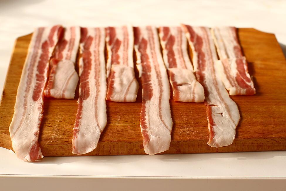 impletire retea de bacon pasul 1