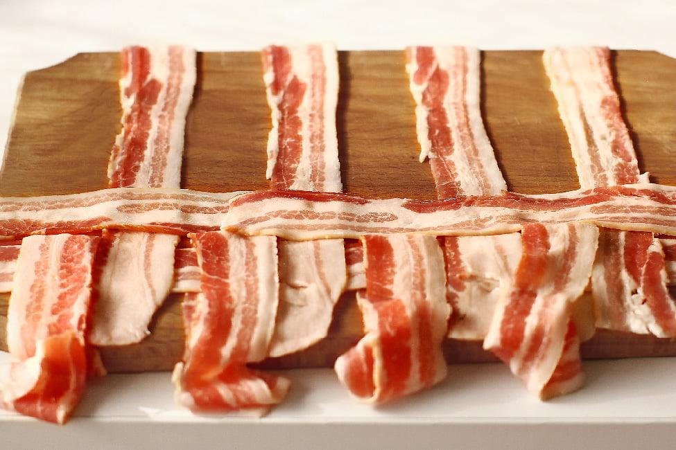impletire retea de bacon pasul 3