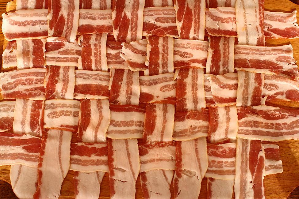 retea de bacon pentru invelit o bucata de carne