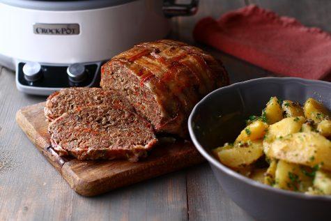 rulada de carne tocata invelita in bacon reteta de rulada aperitiv din carne tocata
