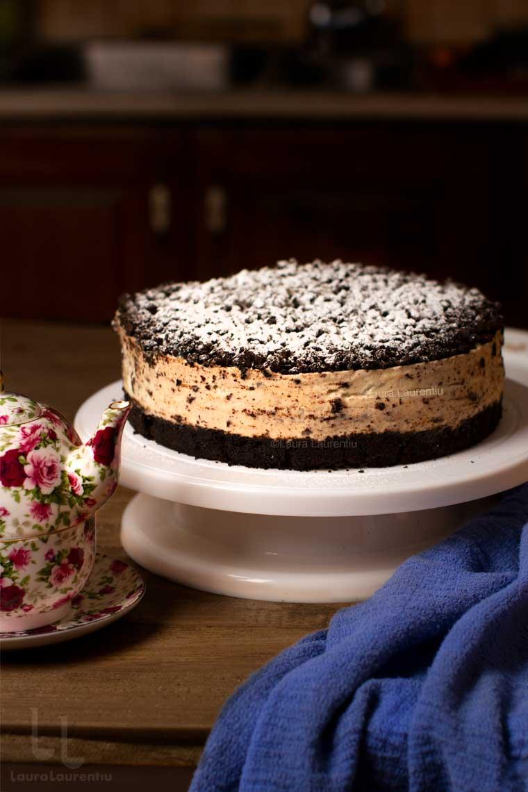 cheesecake straciatella reteta video cheesecake stracciatella cu oreo reteta
