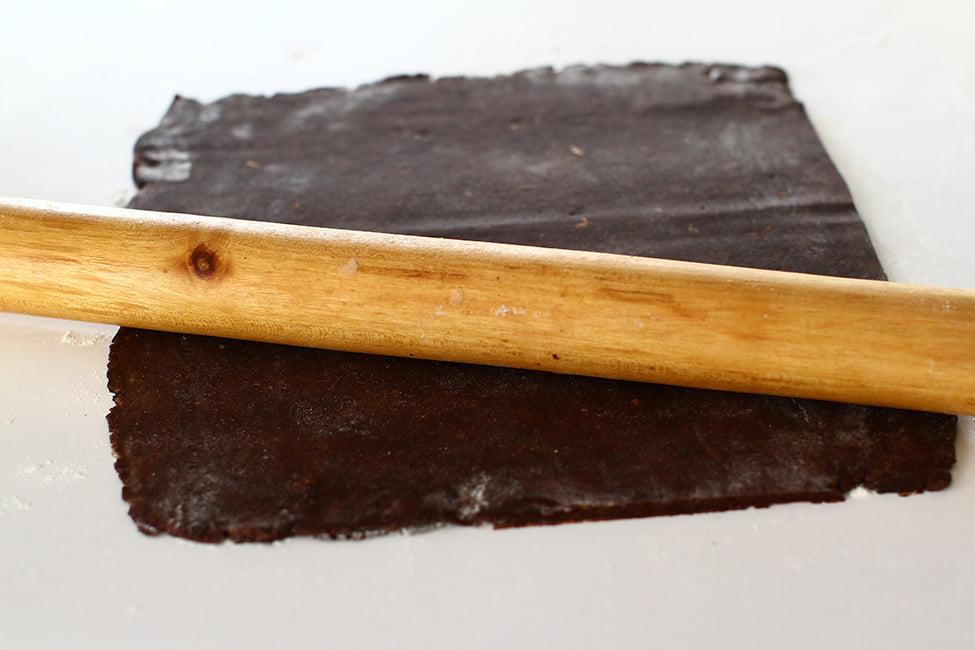 foaie de aluat cu cacao