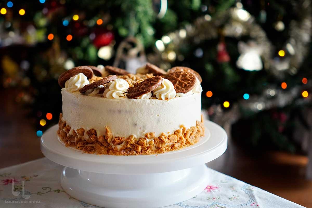 Tort Biscuiți cu lăptic - rețeta video