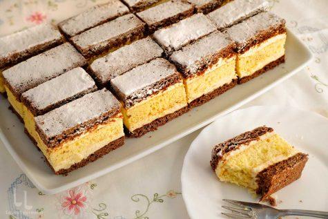"""Prăjitura Budapesta sau """"Televizor"""" – rețetă video"""