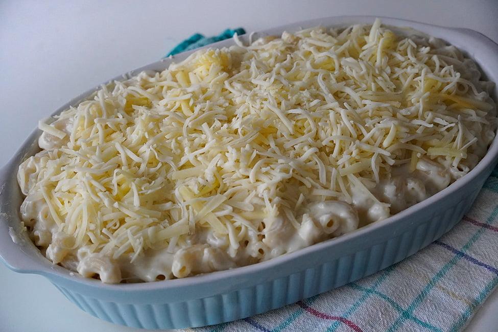 macaroane cu branza in forma pregatite de cuptor preparare mac and cheese