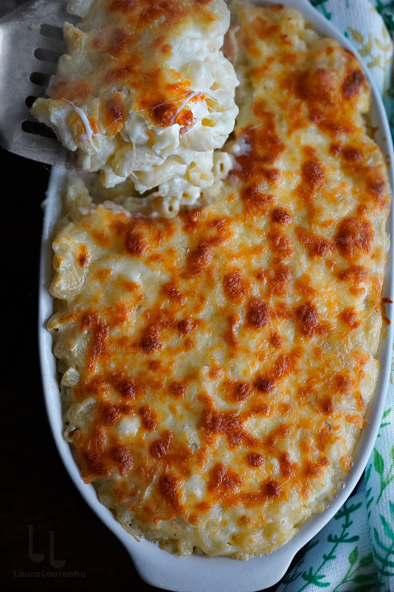 macaroane cu branza la cuptor reteta macaroane cu branza sarata reteta mac and cheese reteta