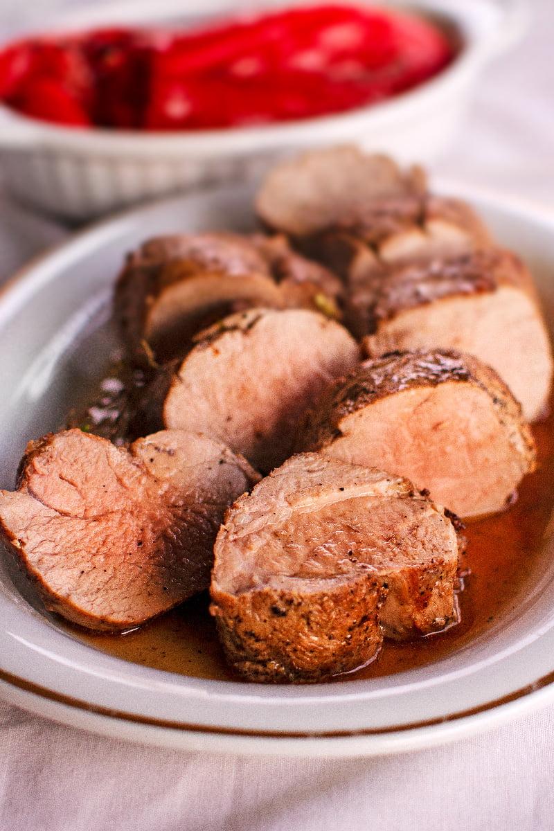 muschiulet de porc la cuptor reteta laura laurentiu