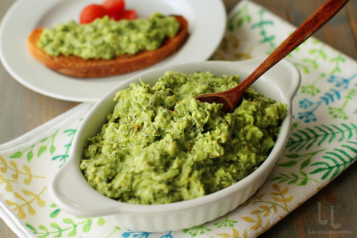 salata de broccoli cu avocado salata de broccoli cu maioneza de post reteta