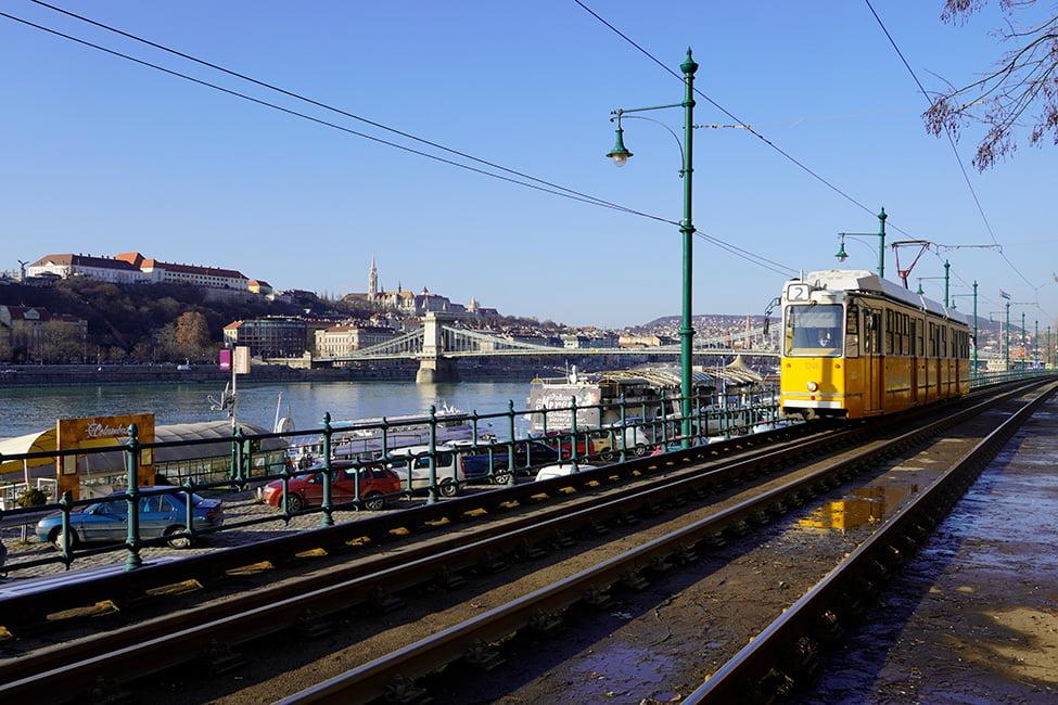 linia de tramvai pe dunakorzo