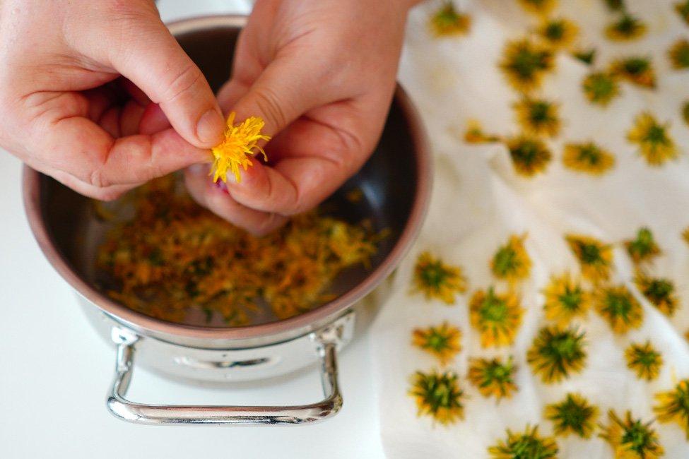 curatirea florilor