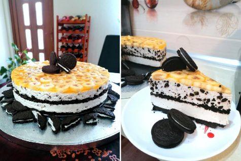 Prăjitura Banoreo încercată de Dana Dana