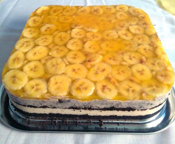 Prăjitura Banoreo încercată de Lapadus Tatiana