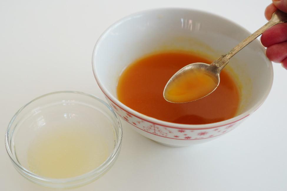 nectar de piersici cu gelatina