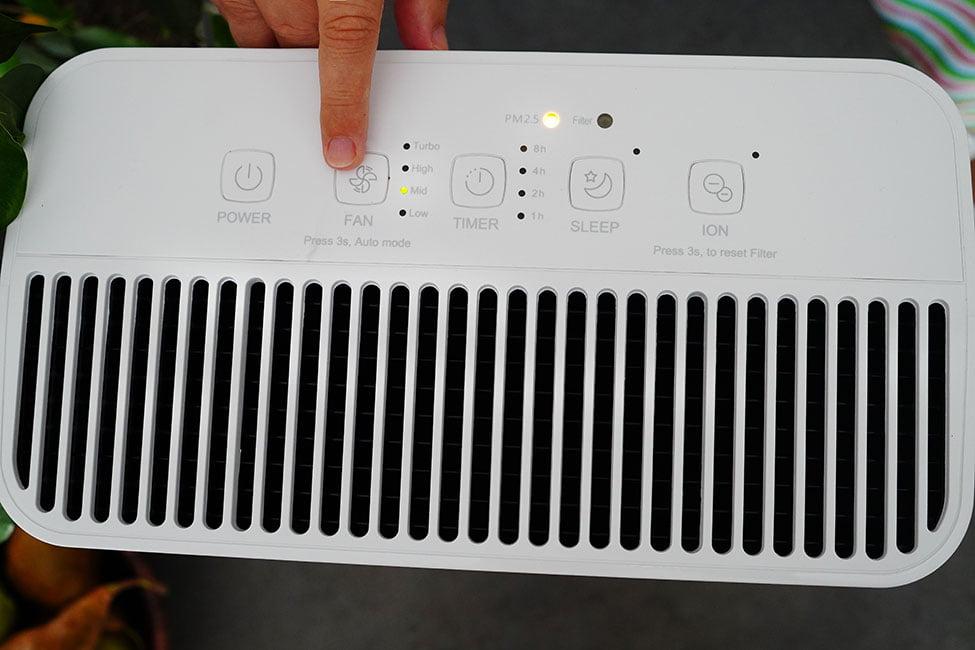 purificator de aer cu filtru hepa si ionizare