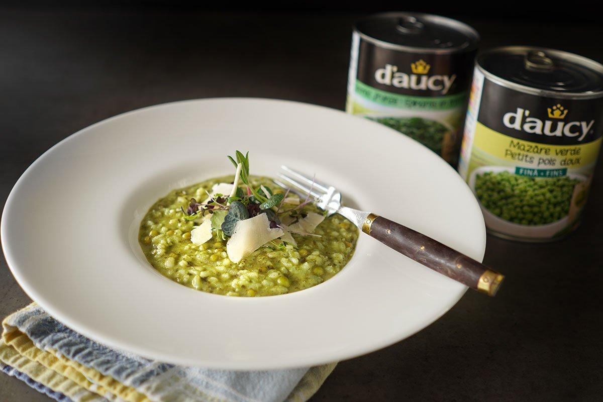 risotto cu legume din conserve daucy