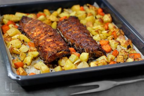 scaricica marinata la cuptor cu cartofi reteta video laura laurentiu