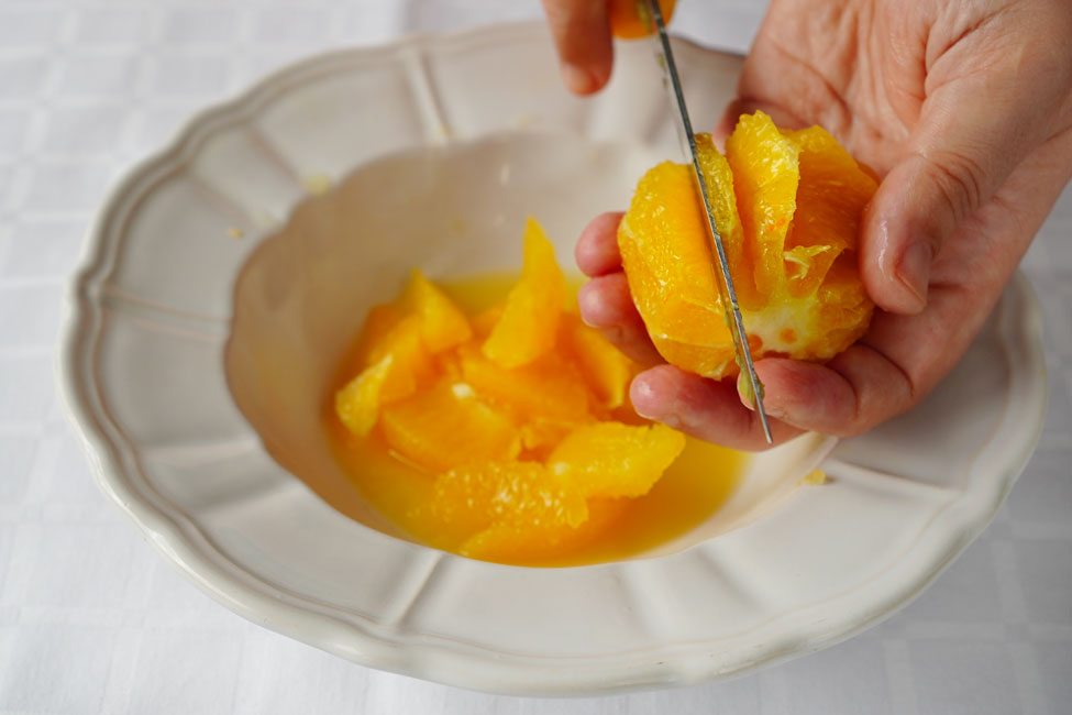 segmente de portocala cum se fac pasul 2