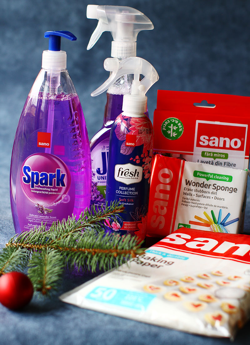 produse pentru curatenie sano