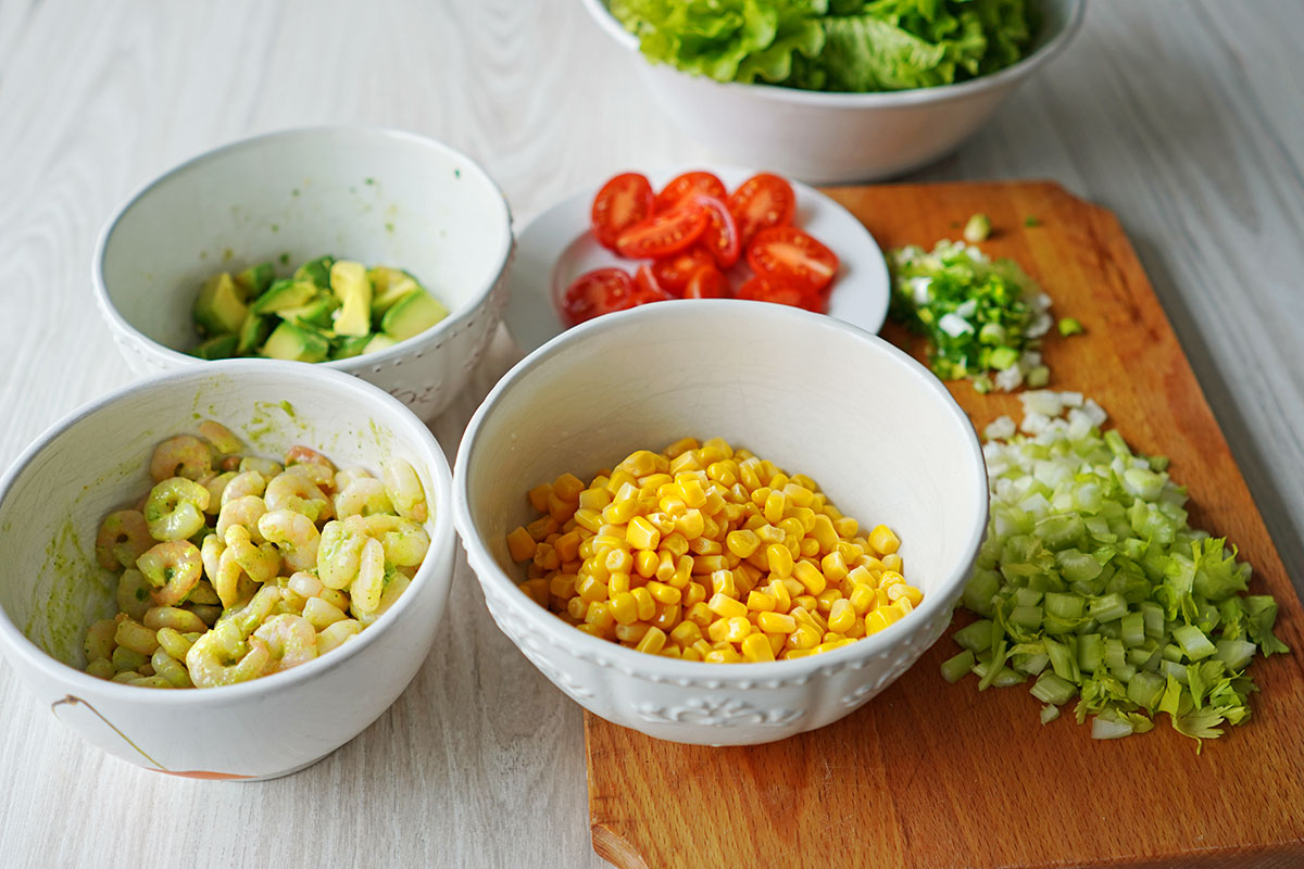 elementele salatei