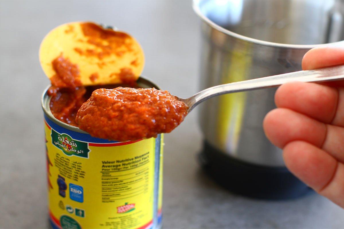 preparare pasta cu harissa
