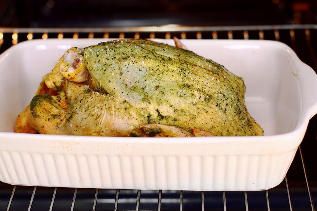 pui la cuptor rece mod de preparare