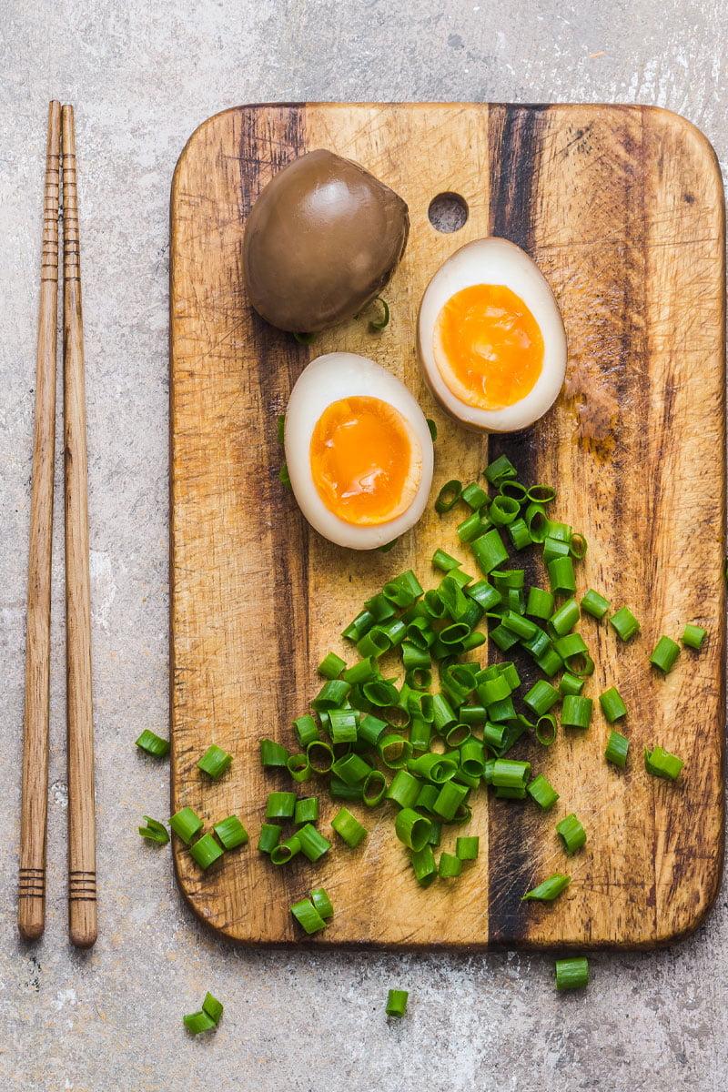 Preparare Ouă marinate în stil asiatic - ouă pentru ramen 1
