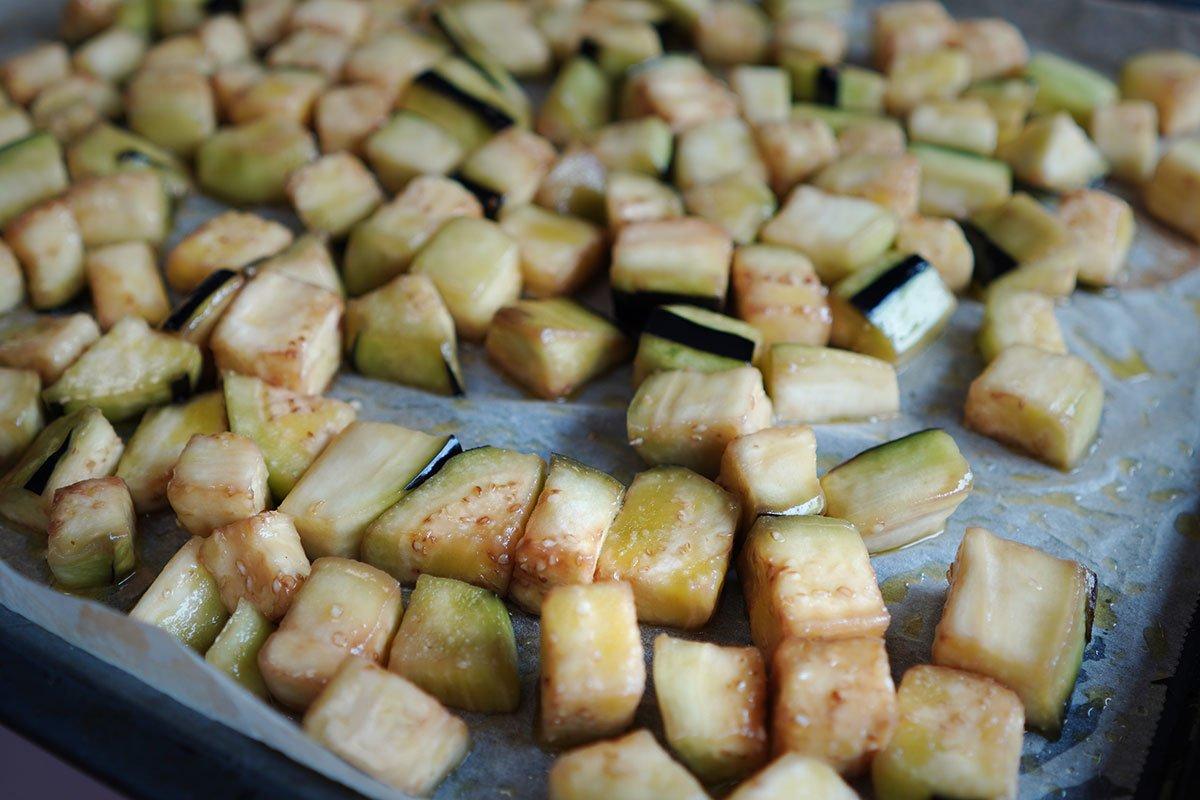 vinetele pregatite de copt la cuptor