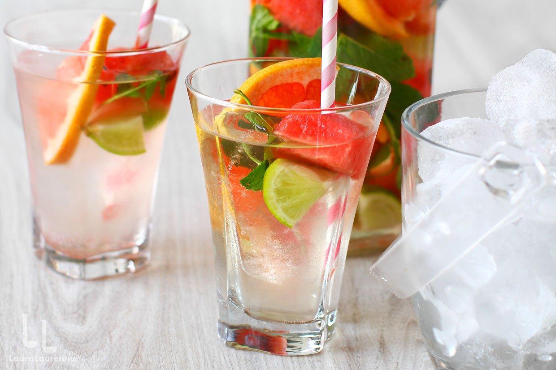 apa vitaminizata reteta apa cu vitamine facuta in casa